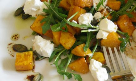 Bradley Smoked Butternut Squash & Feta Cheese Salad