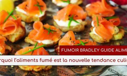 POURQUOI L'ALIMENTS FUMÉ EST LA NOUVELLE TENDANCE CULINAIRE