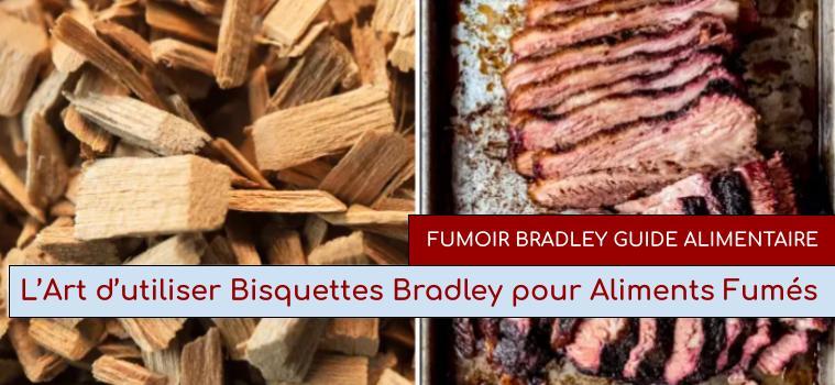 L'Art d'utiliser Bisquettes® Bradley pour Aliments Fumés