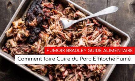 Comment faire Cuire du Porc Effiloché Fumé dans un fumoir Bradley Smoker…